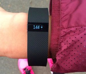 Fitbit Charge HR, Black, Size M for Sale in Santa Monica, CA