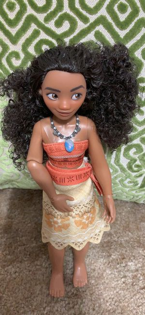 """Moana 11"""" singing doll for Sale in Fountain Hill, PA"""