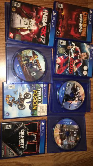 PS4 games for Sale in Elk Grove, CA