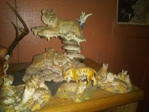 Tiger statue collections for Sale in Victoria, TX