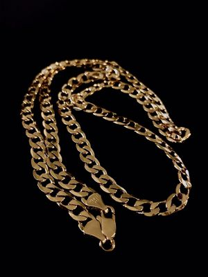 Gold plated chain / cuban 5mm 24 inch for Sale in Mesa, AZ