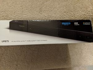 LG 4k UHD Blu Ray DVD player for Sale in Frederick, MD
