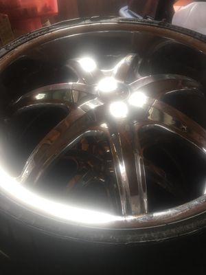 22 inch U2 wheels for Sale in Charlotte Court House, VA