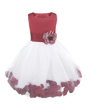 Burgundy flower girl dress for Sale in St. Louis, MO