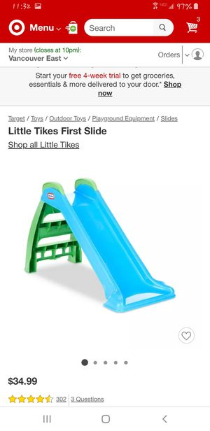 Little tikes slide for Sale in Vancouver, WA