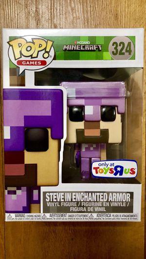 Minecraft Steve Enchanted Armor Pop Vinyl figure for Sale in Miami, FL