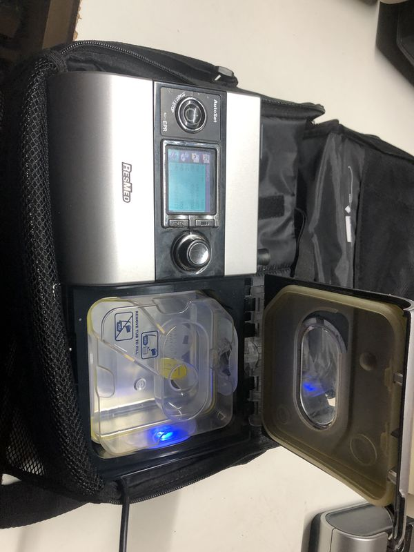 RESMED- H5i-S9- Autoset Cpap Machine -1408 run hours-W/Humidifier + sd card