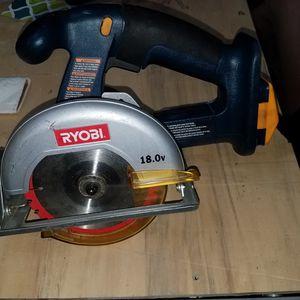 Ryobi 18v circular saw and 36v dewalt reciprocating saw for Sale in West Jordan, UT