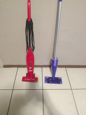 Vacuum cleaner and mop for Sale in Tampa, FL