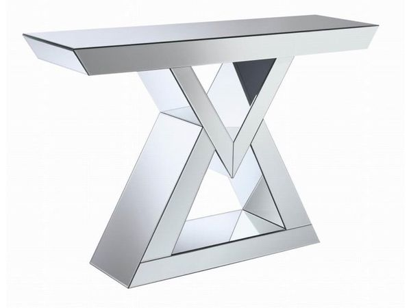 CONSOLE TABLE MIRRORED