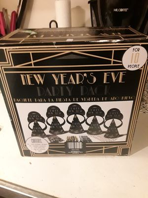New New Year's Eve party kit for Sale in Addison, IL