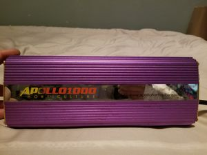 Appollo 1000w Ballast Hydroponics for Sale in Vancouver, WA