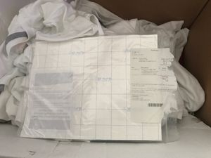 blank white t shirts , transfer paper , low count of shipping packages for Sale in Hampton, VA