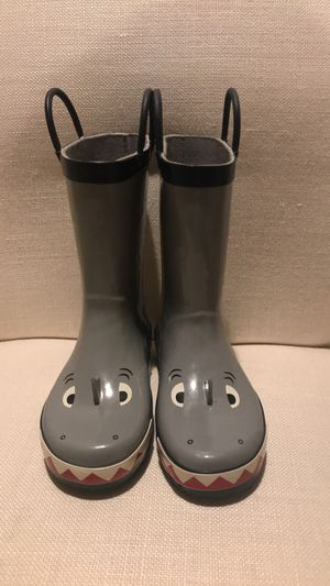 Gymboree shark rain boots for Sale in Montclair, CA