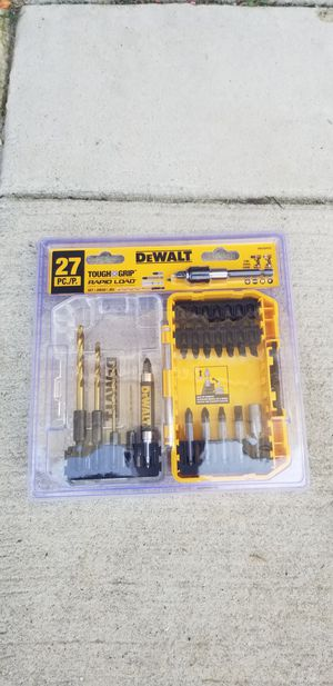 Drill Bit Set for Sale in Jacksonville, NC