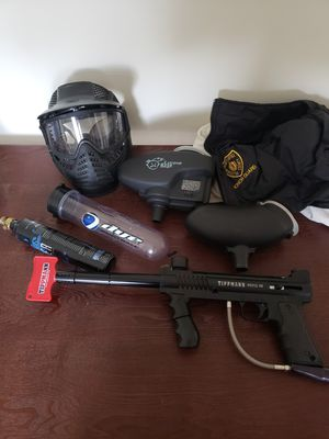 Tippman 98 custom paint ball gun package for Sale in Grafton, MA