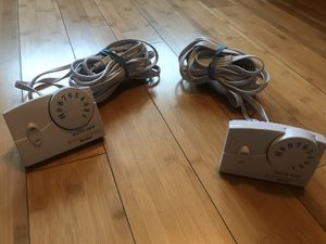 (2) Two Biddeford TC11BA Electric Heating Blanket Controllers for Sale in Sun City, CA