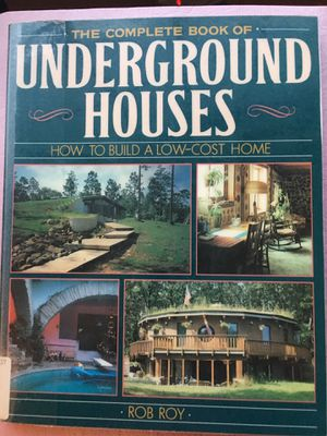 Complete Book of UNDERGROUND HOUSES for Sale in Dexter, ME