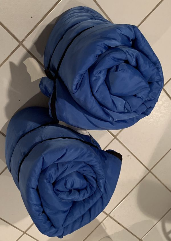 2 Generic Youth/Adult Sleeping bags