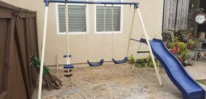 KIDS TEETER TOTTER, SLIDE AND SWINGS SET for Sale in Chula Vista, CA