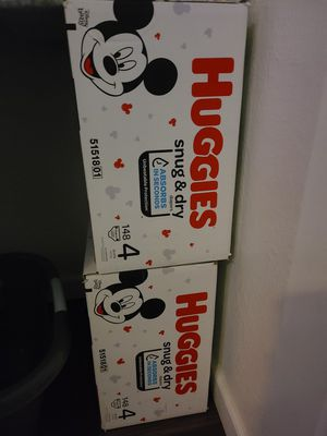 Huggies size 4 (148 count) for Sale in Glendale, AZ