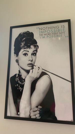 Breakfast at Tiffany's frame for Sale in The Bronx, NY
