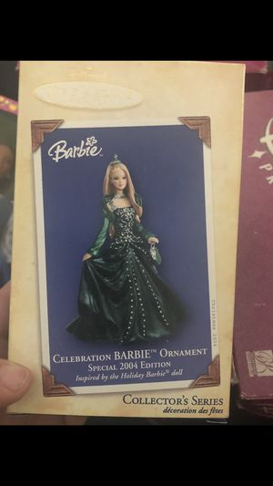 Brand new!!! 2004 celebration barbie Christmas ornament for Sale in East Windsor, NJ