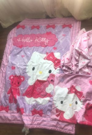 Hello Kitty Toddler size Bed set for Sale in Carlsbad, CA