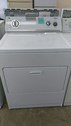 Whirlpool gas dryer propane for Sale in Bensalem, PA