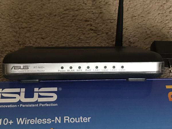 Asus 802.11n Wireless Router