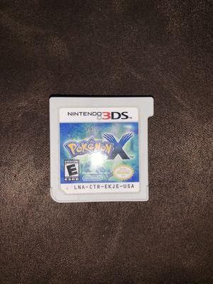 Pokémon X Nintendo 3DS for Sale in Fresno, CA
