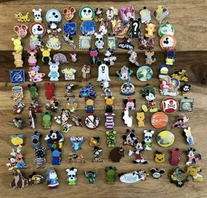 Disney 25 assorted pin lot for Sale in Staten Island, NY