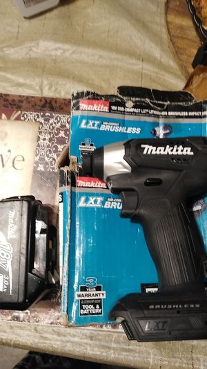 Brand New Makita impact drill and one use battery for Sale in Antioch, CA