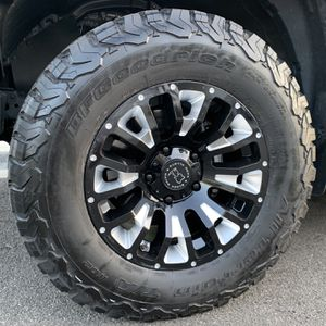 Toyota Tundra 4 Wheels Only 18X9.5 Black Rhino Pinatubo for Sale in Trabuco Canyon, CA
