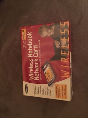 Belkin wireless Notebook Card for Sale in Manassas, VA