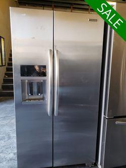 CONTACT TODAY! KitchenAid Refrigerator Fridge 25 cu ft #1634 for Sale in Rialto,  CA