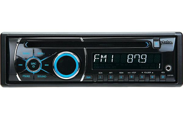 NEW CLARION CZ100 CAR STEREO CD/MP3 PLAYER RECEIVER+AUX