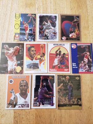 Kevin Willis Hawks Raptors NBA basketball cards for Sale in Gresham, OR