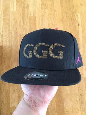 Brand new Nike air Jordan triple G ggg boxing snapback hat golovkin for  Sale in Spring 99577fa84ce