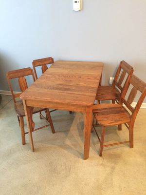 Antique Wooden Kitchen Table for Sale in Cleveland, OH