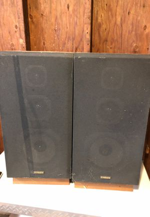 Fisher home audio speakers for Sale in St. Louis, MO
