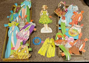 1976 MATTEL & WHITMAN BALLERINA BARBIE PAPER DOLL for Sale in Las Vegas, NV