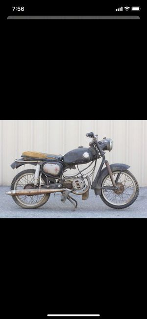 Hercules 1959 K100 Motorcycle Project Parts for Sale in Fontana, CA