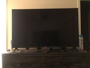 50 inch LG Smart TV with remote for Sale in Fort Mill, SC