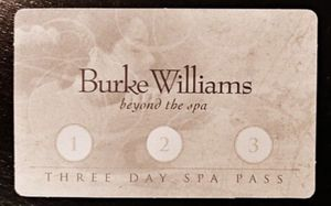 2 Days left on Burke Williams 3 day Spa Pass only $10! for Sale in Ontario, CA