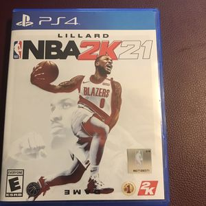 NBA 2k21 Ps4 for Sale in River Forest, IL
