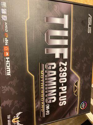 Z 390 plus gaming motherboard for Sale in Spanish Springs, NV