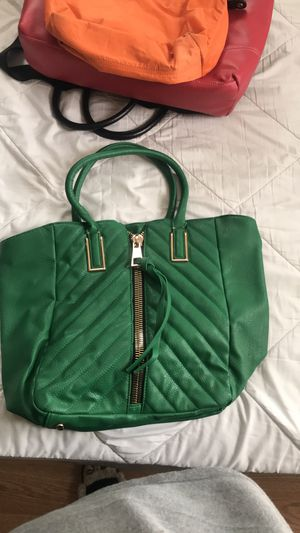 Green & gold tote for Sale in Washington, DC