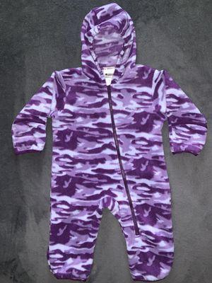 Columbia 12 Month Fleece Snowsuit Purple for Sale in Colorado Springs, CO