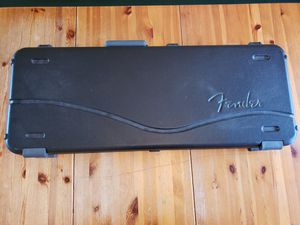 Fender case Hard shell for Sale in Kent, WA